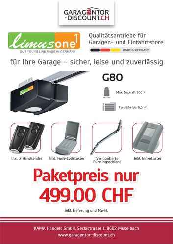Limusone G80 Aktionspaket
